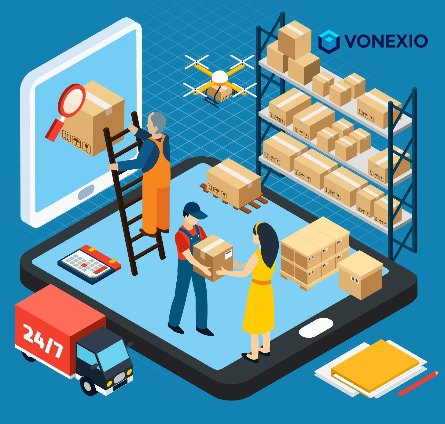 Fulfillment von VONEXIO